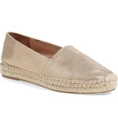 Diane von Furstenberg Women's 'Cairo' Flat Shoes - Beige - Size: 8M