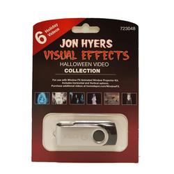 2 in. Jon Hyers Halloween Collection USB with 6 Videos