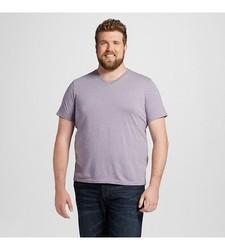 Mossimo Men's Short Sleeve T-Shirt - Purple Agate - Size: XLT