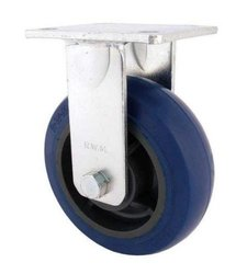 RWM Casters Plate Caster Aluminum Wheel Ball Bearing - 6""