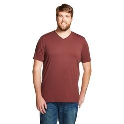Mossimo Men's V-Neck T-Shirt - Mountain Red - Size: XXXL