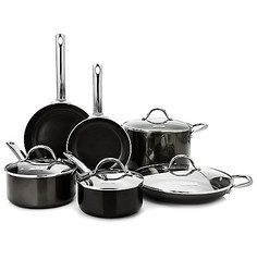 Todd English Hard Anodized 10 Pc Cookware Set
