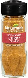 McCormick Gourmet Collection Hot Madras Curry Powder 1.75 oz (088757)