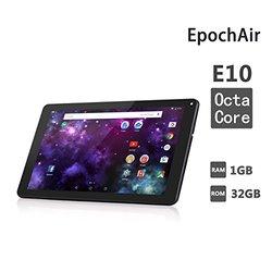 "EpochAir 10.1"" Tablet 32GB Android 5.1 Lollipop - White (MODB012MR1E6C)"