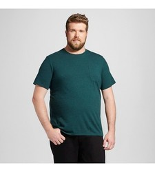 Mossimo Men's Crew Neck T-Shirt - Country Clover - Size: XXLT