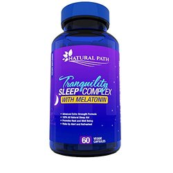 Tranquility Sleep Complex With Melatonin - 60 Capsules