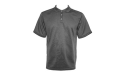 Victory Performance Men's Short Sleeve Polo - Grey - Size: Large