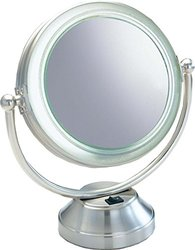 Rialto Lighted Coolite Fluorescent Lighted Cosmetic Mirror