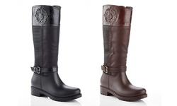 Snow Tec Queen-16 Women's Waterproof Riding Boot - Black - Size: 10