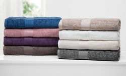 100% Combed Cotton Towel Sets (6-piece): Sand Stone