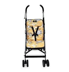 Balboa Baby Stroller Liner in Yellow Flower
