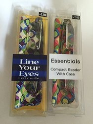 MAGNIVISION LINE YOUR EYES Compact Readers with Case - 2.5