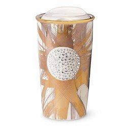 Starbucks Limited Edition Gold Shine Swarovski Coffee Tumbler
