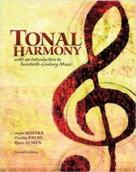 McGraw Hill Audio CD for Tonal Harmony - 7th Edition