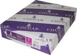"Cougar Opaque Smooth 500 Sheets - White - Size: 8.5""x11"""