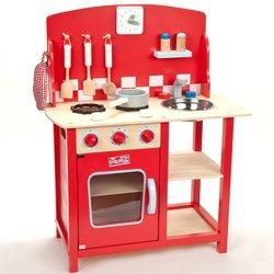 indigo Jamm Kitchenette Play Kitchen - Red