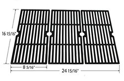 Hongso Cast Iron Cooking Grid 68763 for Gas Grill - 3 Pcks