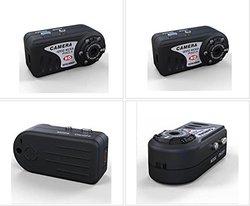 KSRplayer HD 1080P Thumb Wifi DVR Wireless IP Camera - Black