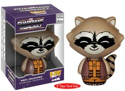 Marvel Rocket Raccoon Guardians of the Galaxy Mini Vinyl Figure (5936)