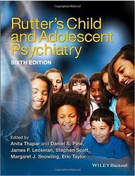Wiley-Blackwell Rutter's Child and Adolescent Psychiatry 6th Edt Hardcover