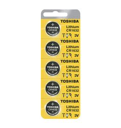 Toshiba Lithium 3V Coin Battery (CR1632)