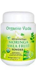 Organic Veda Moringa Amla Fruit Powder - 1lb