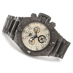 Invicta Subaqua Noma IV Swiss Quartz Chronograph Bracelet Watch - Black