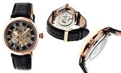 Heritor Automatic HR1706 Ossibus Men's Watch - Black
