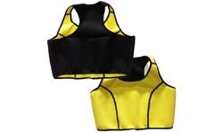 Women's Neoprene Thermal Shaper Tops - Yellow - Size: 3X