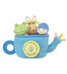 Kids Preferred Beatrix Potter Peter Rabbit Rattle Playset - 3Set