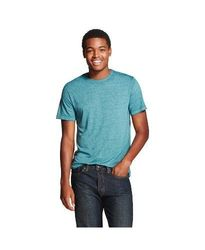 Mossimo Men's Crew Neck T-Shirt - Yacht Blue - Size: LT