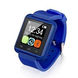 Bluetooth Smart Watch For Men And Women: Blue