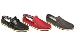 Quentin Ashford Casual Loafers: Grey-white Stitching And Beige Trim/12
