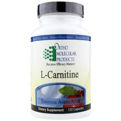 Ortho Molecular LCarnitine Tartrate - Caps 120