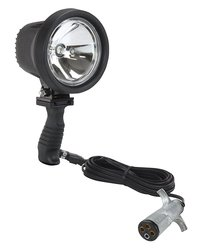 6 Million Candlepower Spotlight - 16 foot Straight Cord - 12 / 24 Volts