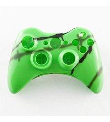 GamerModz Green Shadow Wire Custom Controller Shell for XBOX 360