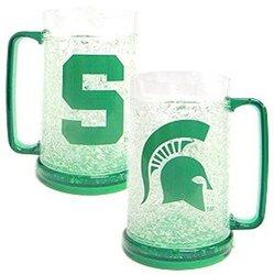 Ncaa Crystal Freezer Mug: Michigan State University