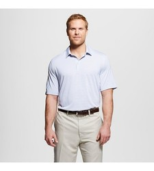 C9 Champion Men's Activewear Polo Shirt True White - Size: Large