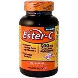 Ester-C Ester-C 500 mg With Citrus Bioflavonoids - Capsules 120