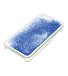 Pilot Glitter Protective Liquid Case for iPhone 5/5s - Blue
