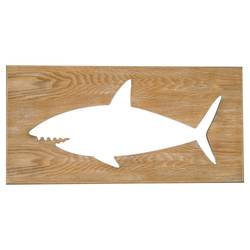 Decorative Shark Plaque - Pillowfort