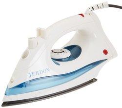 Jerdon J513W Dual Automatic Shut-Off Midsize Iron with 9-Foot Cord, 1200-Watts, White Finish