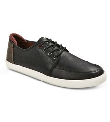 A+ Men's Eddie Sneakers - Black - Size : 8