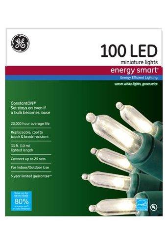 Energy Smart Colorite 100 Light Led Warm White Mini Light
