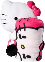 Northwest Indianapolis Colts Hello Kitty Pillow/Throw Combo - Pink