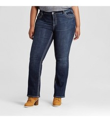 Paisley Sky Women's Plus Size Sky Bootcut Jeans - Blue - Size: 24W