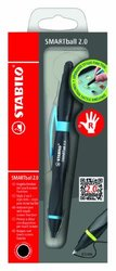 Stabilo Smartball Ballpoint Cyan Right Hand