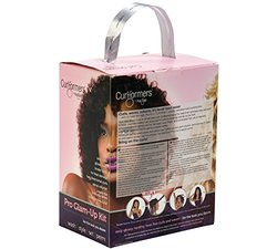 Hair Flair Curlformers Deluxe Range Glam up Kit Barrel Curls for Long Hair