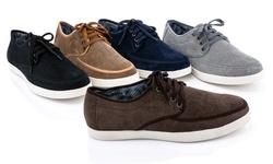 Franco Vanucci Men's Sneaker - Black - Size: 11