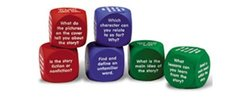 Learning Resources Reading Comprehension Cubes - Pack of 7